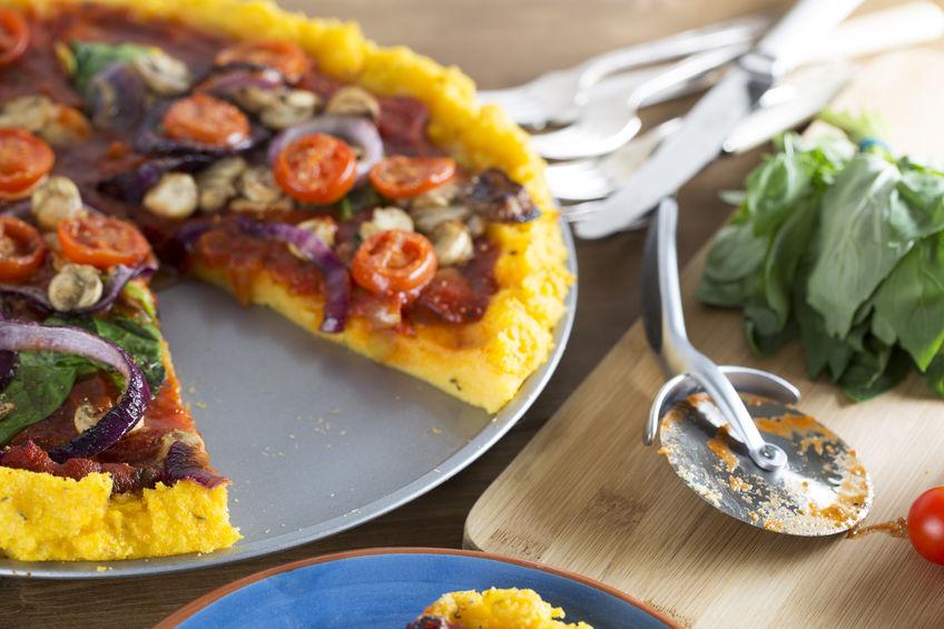 vegan piza