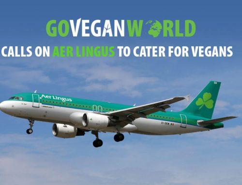 Go Vegan World Calls on Aer Lingus to Cater for Vegans
